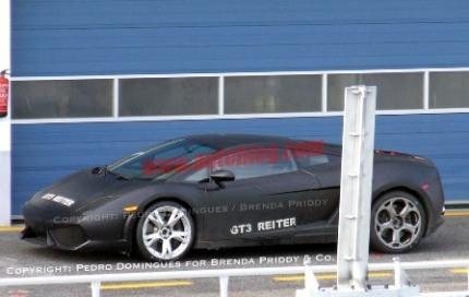 Fotos espía del nuevo Lamborghini Gallardo LP550