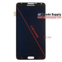 La pantalla del Samsung Galaxy Note III es medida y comparada con la de Note II