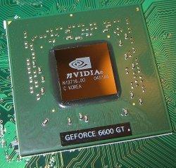Chip GPU. Fuente: Wikimedia.