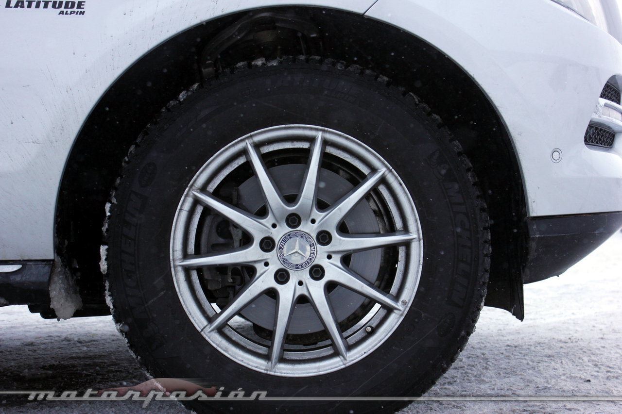Foto de Michelin Pilot Alpin y Michelin Latitude Alpin, Experiencia 4Matic (20/27)