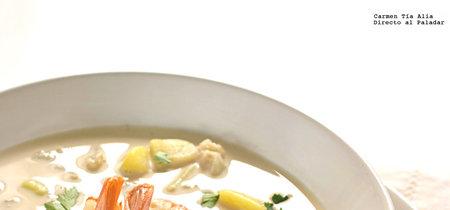 Gazpachuelo malagueño: receta tradicional