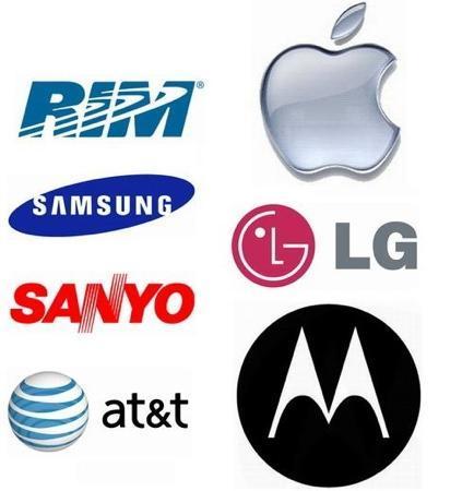 Apple, RIM, Samsung, LG, Motorola, Sanyo y AT&T demandadas por infracción de patentes