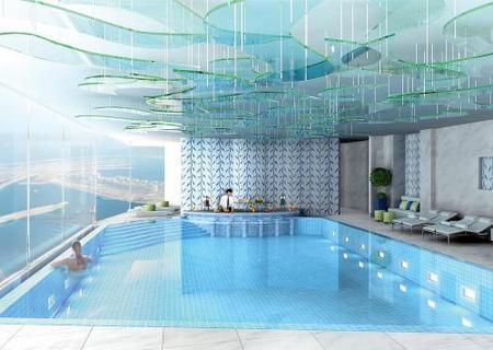 piscina en el atico