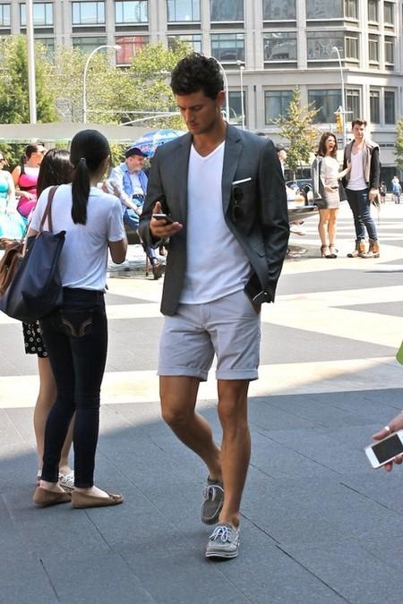 El Mejor Street Style De La Semana Combo Blazer Shors Bermudas Trendencias Hombre 07