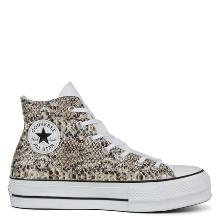Glitter Jungle Platform Chuck Taylor All Star High Top