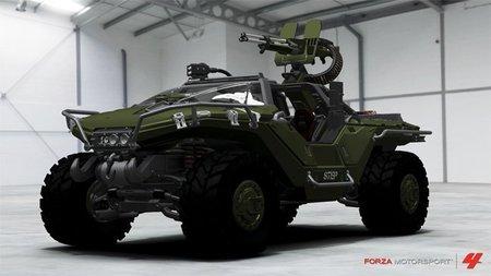 Cómo conseguir el Warthog de Halo en Forza Motorsport 4
