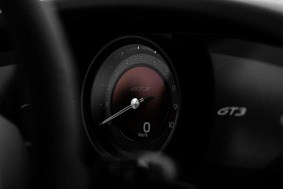 Porsche 911 GT3 2021, teaser