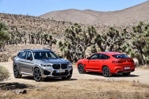 Los BMW X3 y X4 M 2020 llegan hasta 510 hp con tecnología para devorarse el circuito