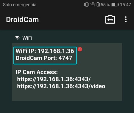Ip Droidcam Android