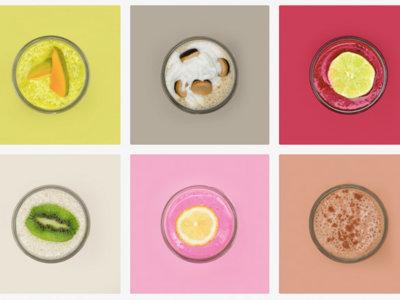 Esta artista sueca ha igualado los colores Pantone en sus smoothies