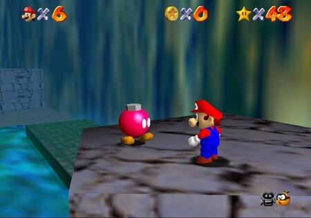 Super Mario 64: cómo conseguir la estrella Blast to the Stone Pillar de Jolly Roger Bay