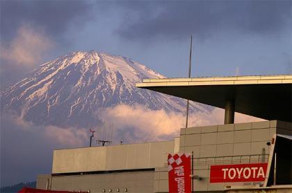Fuji, una recta interminable y poco más