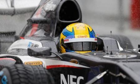 Sauber y Esteban Gutiérrez los más activos en la pretemporada