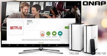 Los modelos de NAS con Android de QNAP ya admiten Netflix