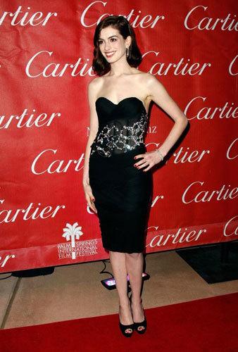 Anne Hathaway en los Premios del Palm Springs Festival
