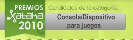 Mejor consola/dispositivo para juegos de 2010: vota a tus candidatos