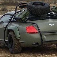 ¿Está tu coche preparado para la guerra? Este Bentley Continental GT es perfecto para un día apocalíptico