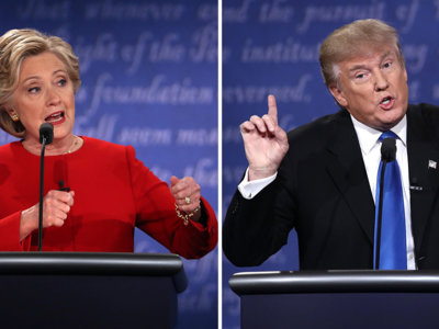 Hollywood reacciona al debate de Hillary Clinton y Donald Trump
