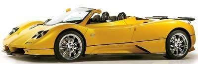 Pagani Zonda roadster, potencia y exclusividad