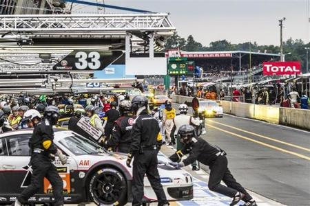 Triplete de Audi en la primera sesión de clasificación