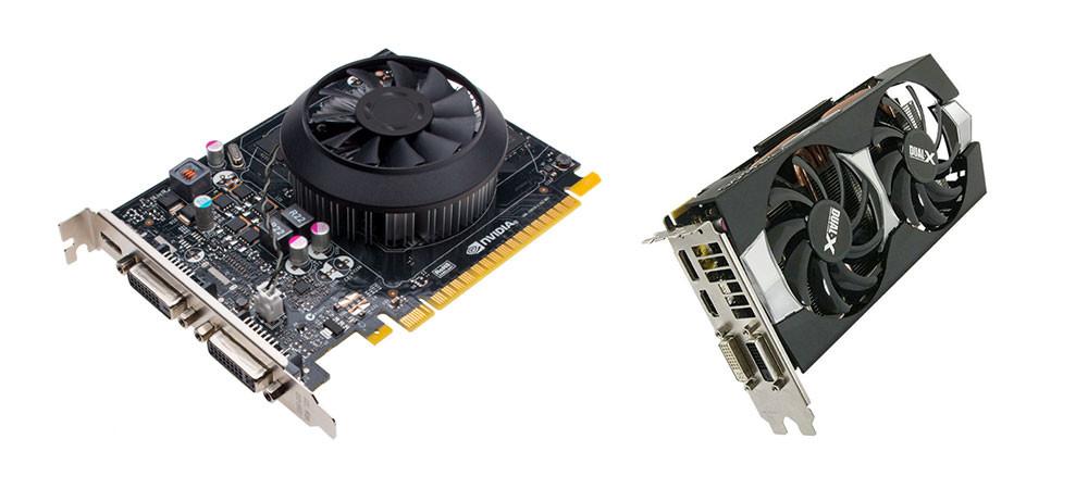Nvidia 750 Ti Amd R7 370