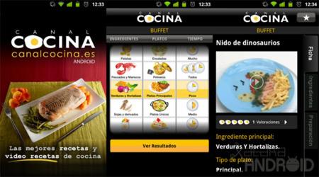 Canal Cocina para Android