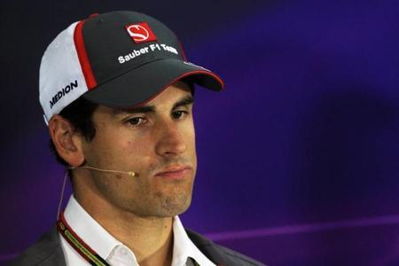 Adrian Sutil y Sauber; el desengaño brasilero