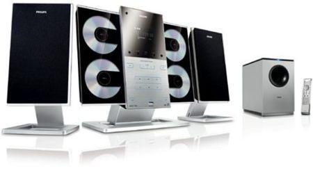 Philips MCD299, cine en casa compacto y de diseño