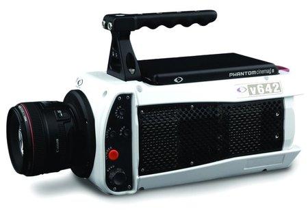 Phantom v642, grabando 5.850 imágenes por segundo en 720p