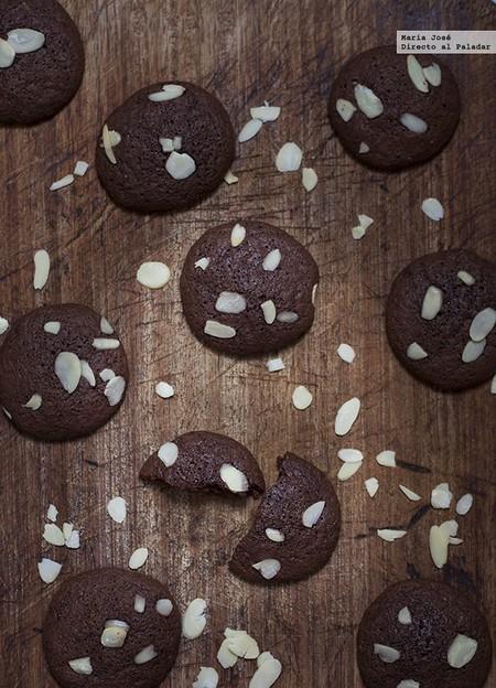 Estas galletas de brownie se convertirán en  vuestra receta preferida de cookies en cuanto las probéis