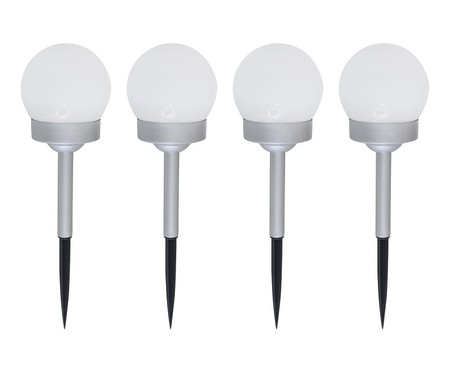 lámparas solares para jardín