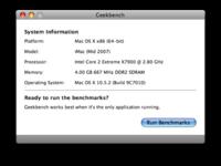 Geekbench, comprueba y comparte con otros usuario el rendimiento de tu Mac