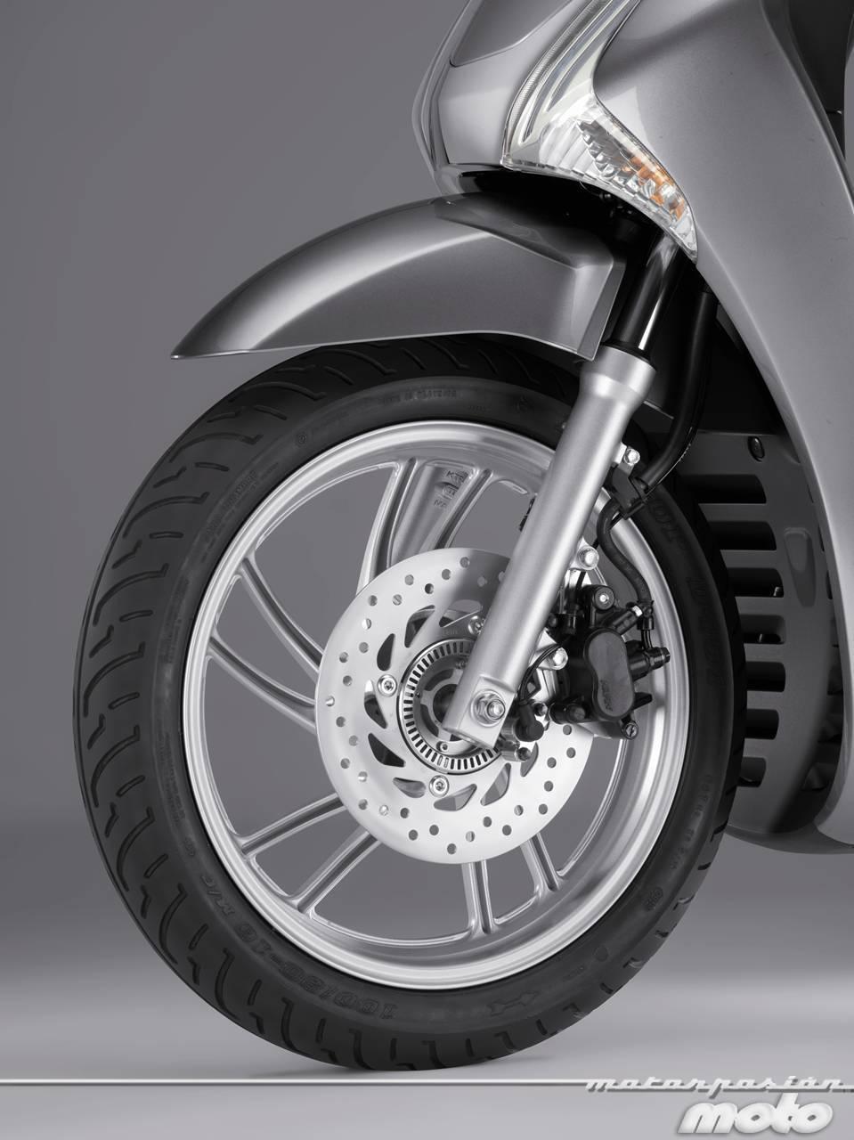 Foto de Honda Scoopy SH125i 2013, prueba (valoración, galería y ficha técnica)  - Fotos Detalles (48/81)