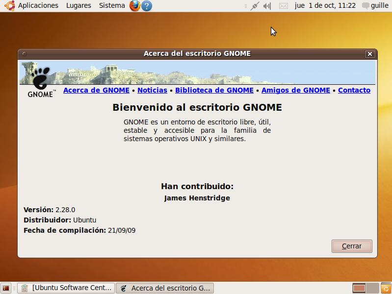 """Foto de Ubuntu 9.10 Karmic Koala """"Beta"""" (8/10)"""