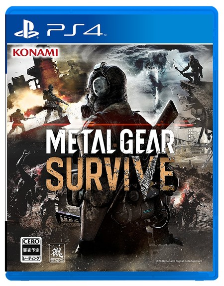 Metal Gear Survive Box