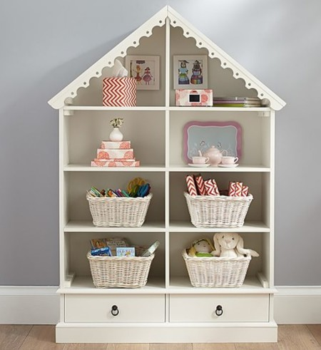 Pottery Bookcase