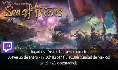 Streaming de Sea of Thieves a las 17:30h (las 10:30h en Ciudad de México) [Finalizado]