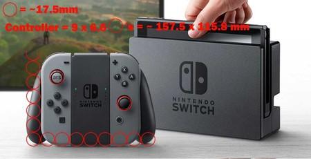 Nintendo Switch: posibles medidas del mando