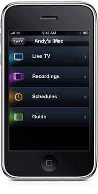 EyeTV, otra jugada en la AppStore