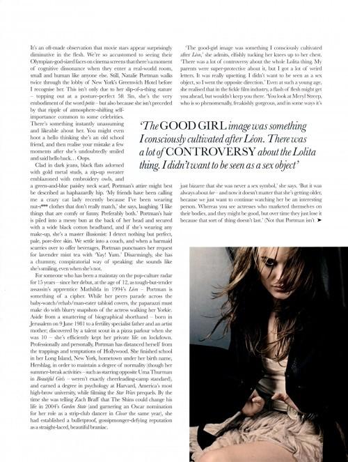 Todas las fotos de Natalie Portman para Elle: el cuento de la princesa romántica