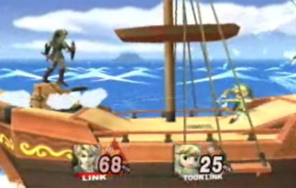 Toon Link en Super Smash Bros Brawl