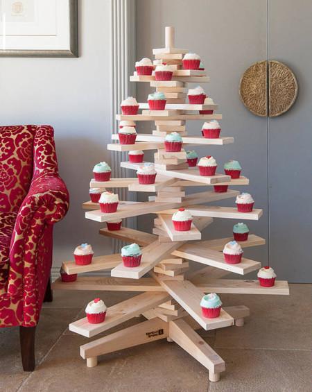 Original Small Wooden Christmas Tree