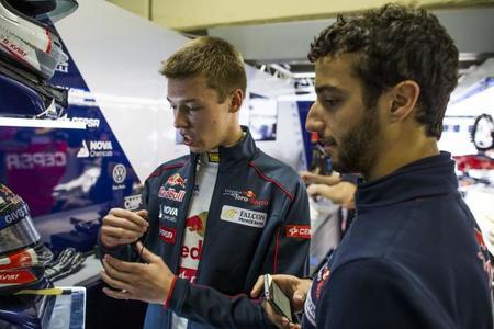 Daniel Ricciardo advierte que no se confiará de Daniil Kvyat