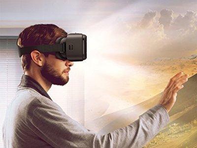 Gafas de Realidad Virtual Aukey VR 3D por 10,99 euros en Amazon