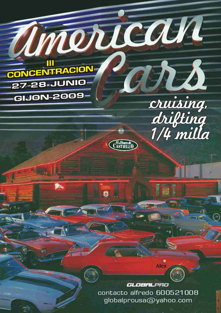 III Concentración American Cars Gijón