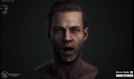A este alucinante personaje virtual de Unreal Engine se le mueve hasta el último músculo de la cara