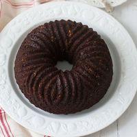 Bundt Cake de avellanas, yogur y cacao. Receta