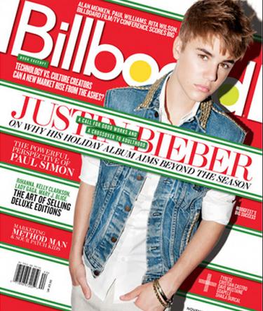 Justin Bieber se parece a los Beatles en el blanco de los ojos