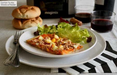 Cómo hacer coca de tomate de Castellón, receta tradicional (también con Magimix Cook Expert)
