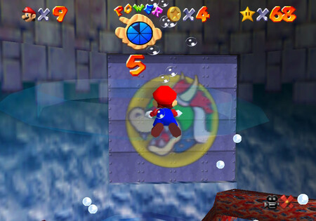 Super Mario 64: cómo conseguir la estrella Through the Jet Stream de Dire, Dire Docks
